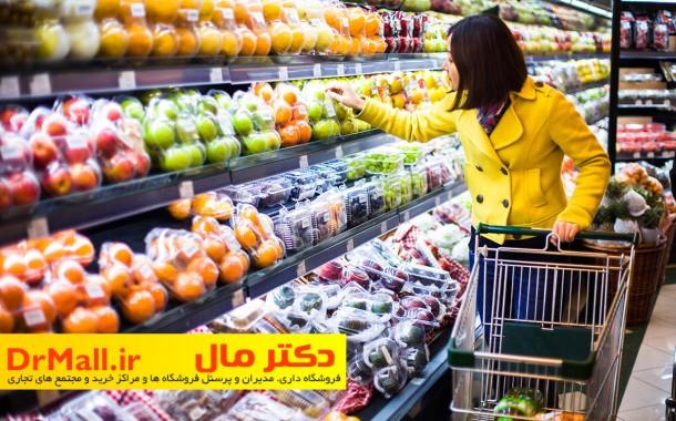 دکوراسیون و چیدمان فروشگاه مواد غذایی، خوراکی و نوشیدنی