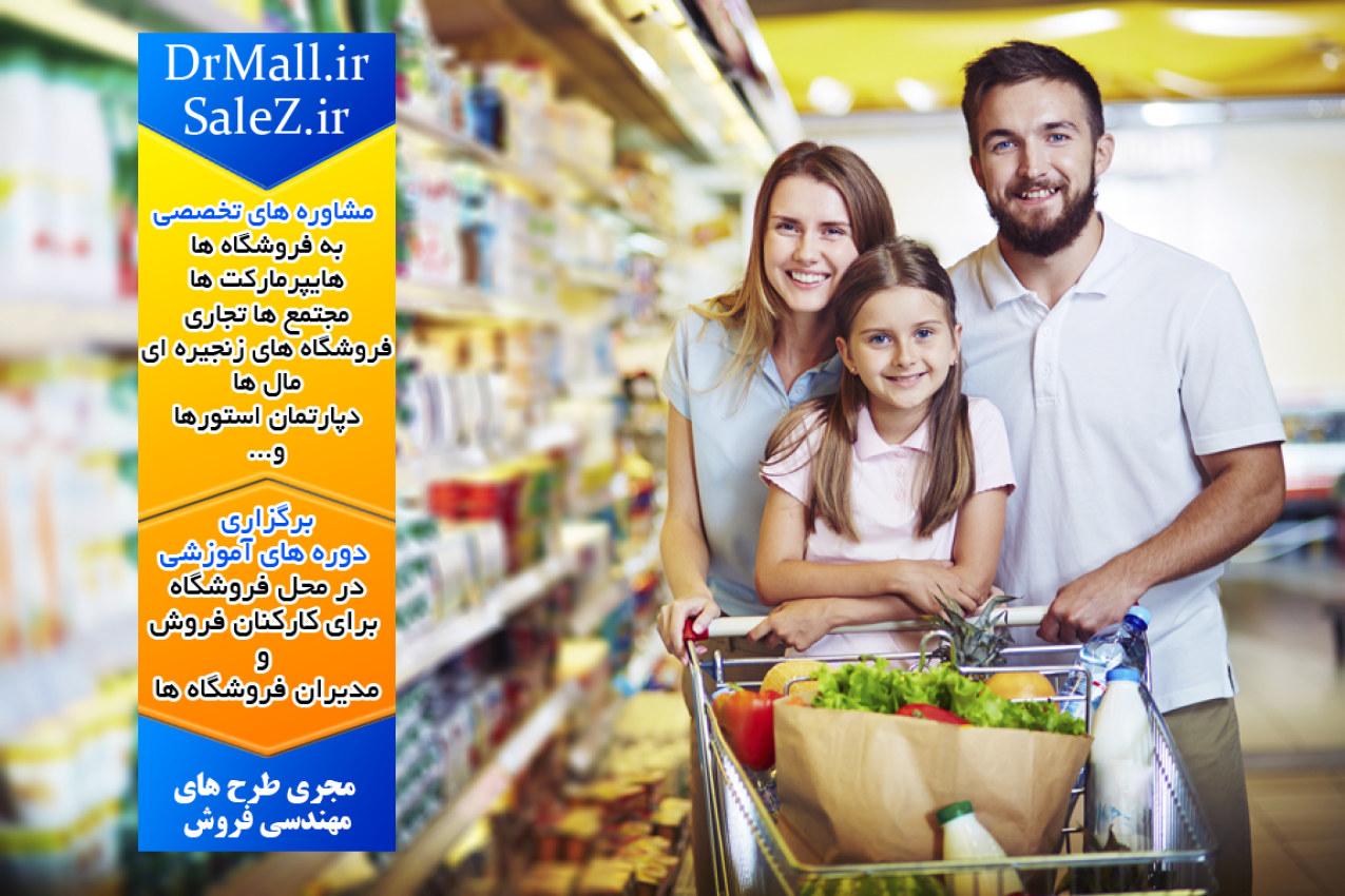 وال مارت، الگوی فروشگاه های زنجیره ای